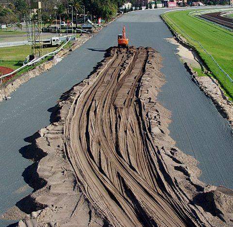 Royal Randwick Racecourse CAD project